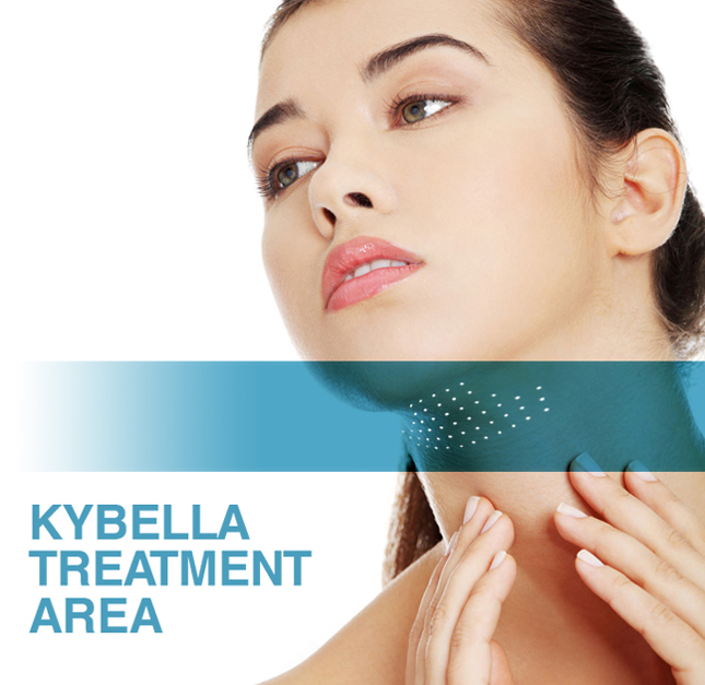 Destroy chin fat with Kybella®