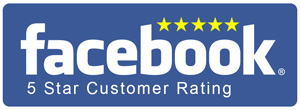 Facebook 5 Star Customer Rating