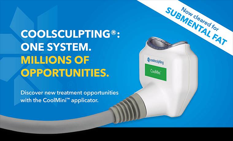 Coolsculpting: One System. Millions of Opportunities.