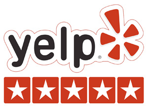 Yelp 5 Star Customer Rating